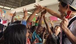世界の発展途上国の子供たちへ給食サポートを実施1